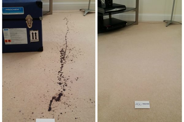 Candle Wax Spill Carpet Cleaning