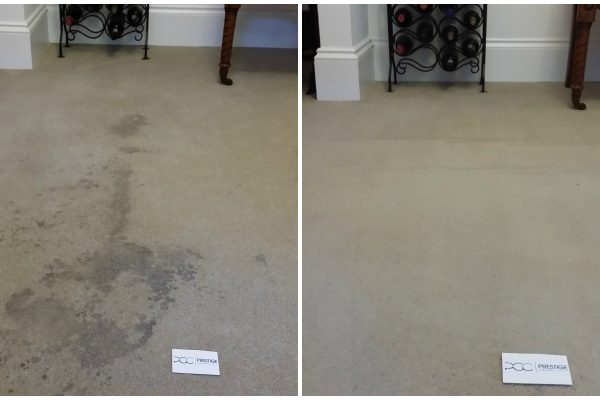 Red Wine Spill Carpet Cleaning